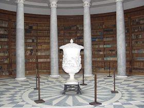 La biblioteca, foto: El palacio Kacina, CC BY-SA 3.0 Unported