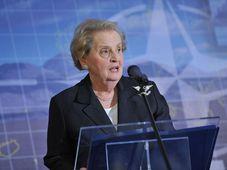 Madeleine Albrightová, foto: © NATO