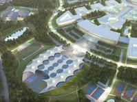 La visualisation du projet de l'Université Charles à Jinonice, photo: Repro Urbanistická vize UK 2030 / L'Université Charles
