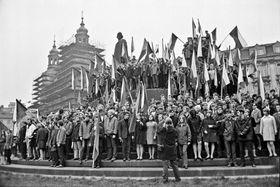 Фотография Пржемысла Гневковского, фото: выставка Sovětská invaze - srpen 1968