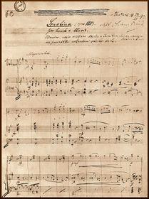 Dvořákova Sonatina, zdroj: archiv Muzea Antonína Dvořáka vPraze