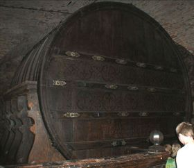 El barril del año 1643, foto: Jiří Doležel, CC BY-SA 3.0 Unported