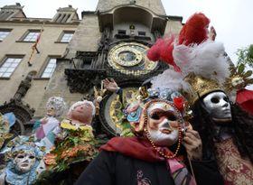 Открытие масленичного сезона 2016 на пражской Староместской площади, Фото: ЧТК