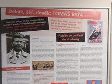 """Ausstellung """"Arbeiter, Chef, Mensch: Tomáš Baťa"""" (Foto: Martina Schneibergová)"""
