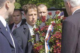 Станислав Гросс на похоронах Ивана Глинки (Фото: ЧТК)
