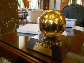 Balón de Oro de Josef Masopust de 1962, foto: archivo de Daniel Ordóñez