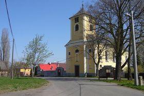 Kostel sv. Leonarda vobci Údrč, foto: Salim2, CC BY-SA 3.0 Unported