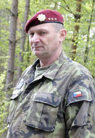 полковник Карел Клиновский, фото: Mirek Šindelář MOV ČR