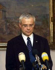 El Primer Ministro checo y presidente de la Socialdemocracia, Vladimír Spidla, foto: CTK