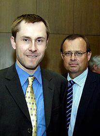 Pavel Hrobon and Lubomir Chudoba, photo: CTK
