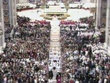 La canonisation de Sainte Agnès, photo: ČT24