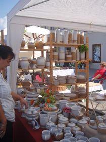 Le grand marché de céramique et de poterie à Beroun, photo: Magdalena Hrozínková