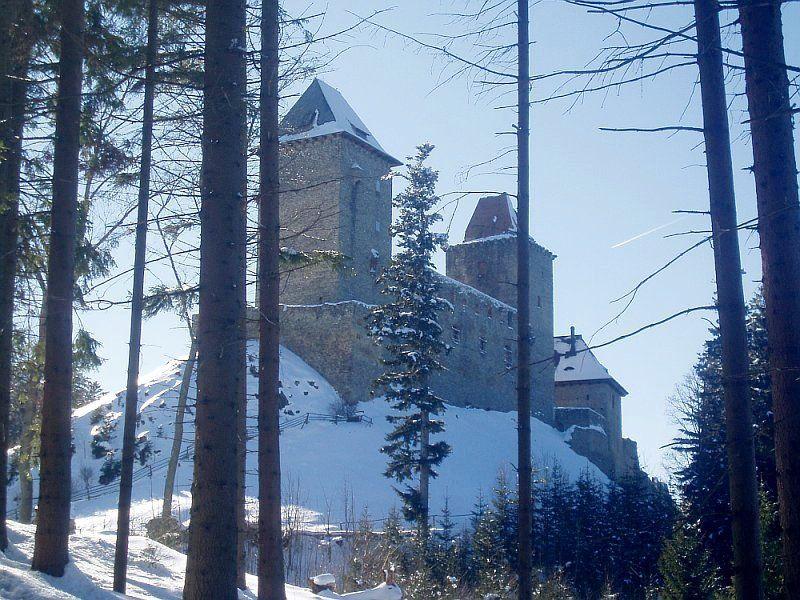 Château de Kašperk, photo: Magdalena Hrozínková