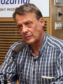 Petr Uhl, photo:Alžběta Švarcová, ČRo