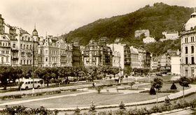 Karlovy Vary en 1948