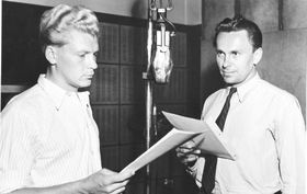 Jiří Hanzelka, Miroslav Zikmund, photo: archive of Czech Radio