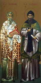 Изображение Константина и Мефодия