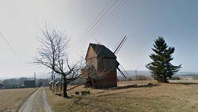 Un molino de viento, foto: Google Maps