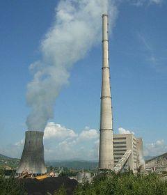 Электростанция Pljevlja, Фото: Mazbln, CC BY-SA 3.0