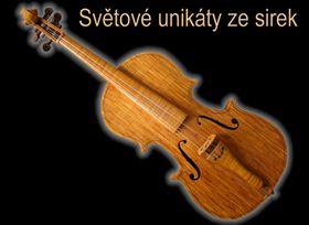 Geige aus Streichhölzern (Foto: Archiv des Museums der Rekorde und Kuriositäten)