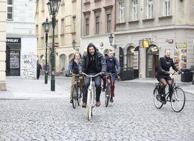 'Do práce na kole', photo: Iva Pohanková / Auto*Mat