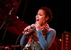 Melanie Scholtz, foto: Archivo del Standard Bank Youth Jazz Festival