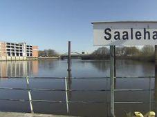 Главная из чешских пристаней Саалехафен (чешское название Сальская) располагается на площади 21 тыс. кв. метров (Фото: Чешское телевидение)