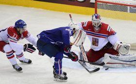 Czech Republic - France, photo: CTK