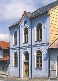 Synagoge Hartmanice (Foto: Offizielle Web-Seite von Hartmanice)