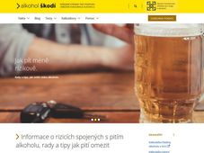 Photo: Site officiel d'Alkohol škodí