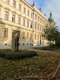 Stéla na místě původní Šlezingerovy sochy, foto: Markéta Kachlíková