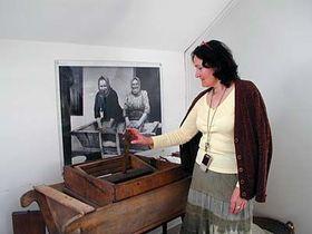 Museumsleiterin Blanka Čuhelová