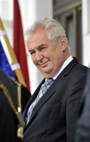 Президент Милоš Земан (Фото: ЧТК)