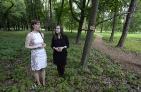 Бланка Добешова и Моника Суханска (Фото: ЧТК)
