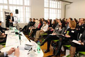 Keynote speech, Photo: Economia