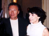 Karel Gott y Lucie Bila