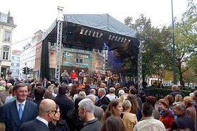 Opening of the Czech House in Brussels, photo: CTK