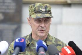 Stellvertretender Generalstabschef  Jiří Verner (Foto: ČTK/Kateřina Šulová)