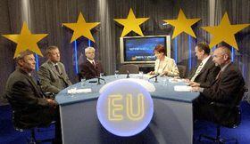 El debate de líderes de partidos parlamentarios del domingo, foto: CTK