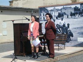 Елена Макарова (слева)