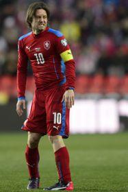 Капитан чешской сборной Томаш Росицкий (Фото: ЧТК)