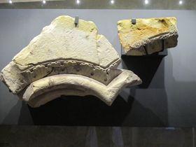 Artefakte aus dem Lapidarium des Klosters (Foto: Martina Schneibergová)