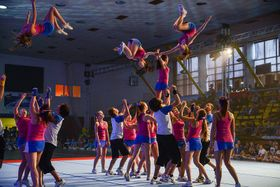 Photo: archive of Czech Cheerleading Union