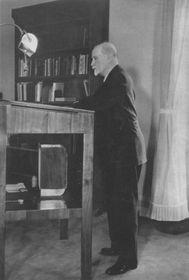 T. G. Masaryk quelques jours avant sa mort à Lány, photo: Repro TGM v Lánech
