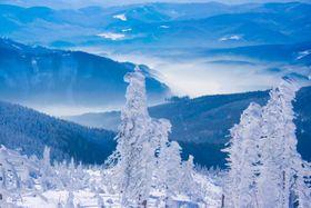 Zima vBeskydech, ilustrační foto: CzechTourism