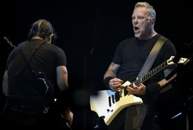 Robert Trujillo, James Hetfield, photo: CTK