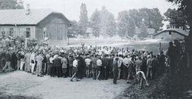 Refuiados checoslovacos en Bronowice