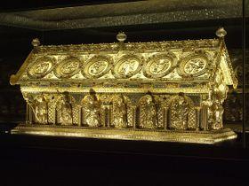 Le reliquaire de Saint-Maur, photo: NPÚ