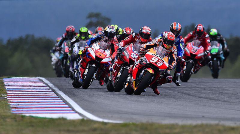 Grand Prix moto à Brno, photo : ČTK / Luboš Pavlíček