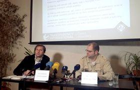 Давид Ондрачка и Даниэл Гуле (Фото: Ольга Васинкевич)